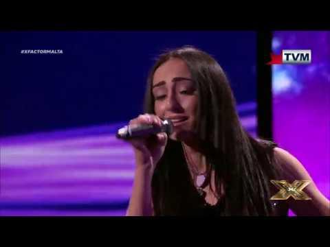 Nicole Frendo's impeccable performance of the legendary Purple Rain X Factor Malta Live Show 2
