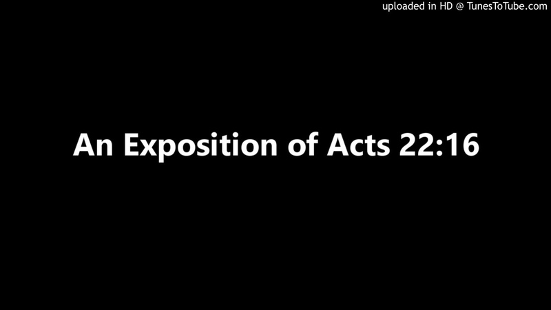 An Exposition of Acts 2216