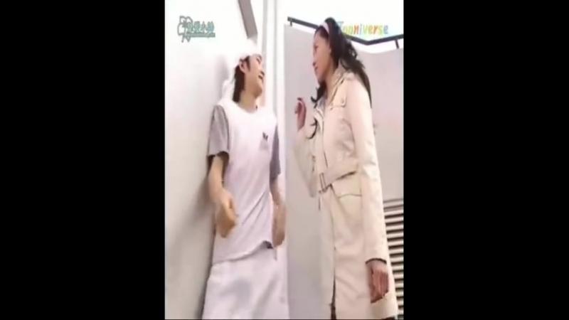 Jang Keun Suk Alian Sam забавный эпизод в сауне.