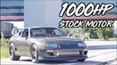 1019HP Supra Gaptizes Porsche 911 - 2JZ Stock Motor Champ!