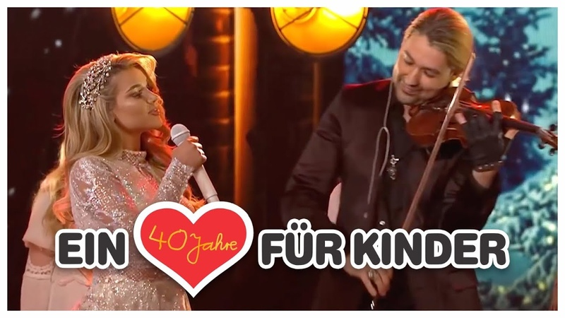 Shirin David David Garrett Leise rieselt der Schnee Live Ein Herz für Kinder 2018 im ZDF