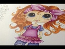 My bestie - coloring with alcoholmarkers - copic sketch markers