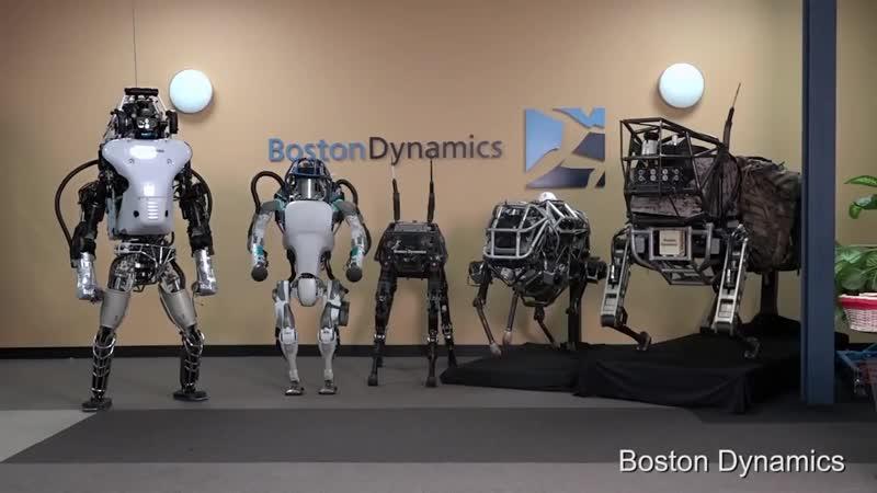 Создан прямоходящий робот АТЛАС. Новое поколение. Шокирующее видео. FullHD
