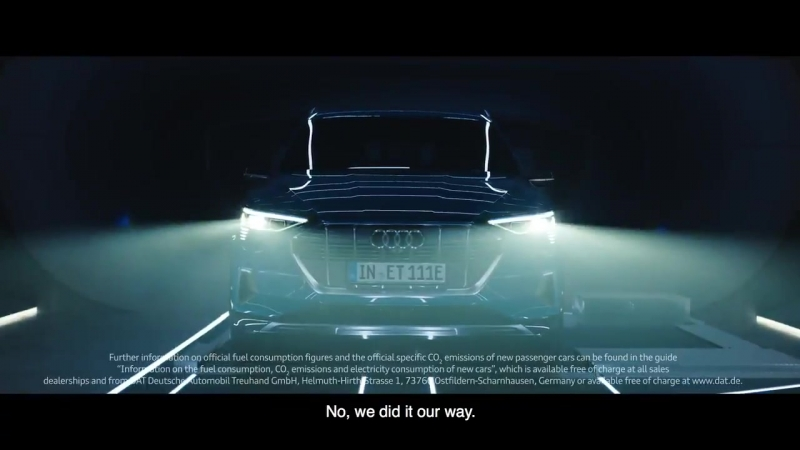 Audi e tron We did not invent the electric car We simply unleashed it etron Get electrified on
