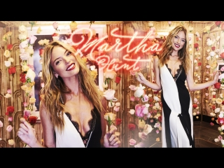 Martha Hunt on the new Victoria's Secret flagship store & personal favs (RUS SUB)