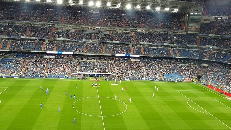 Real Madrid vs Getafe 2-0. Inno Hala Madrid y nada mas