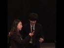 181013181015 BaekHyun Kai SeHun Chen и CHANYEOL на свадьбе сестры CHANYEOL