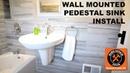 SEMI Pedestal Sink