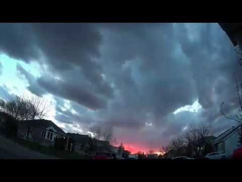 2018 Ultra timelapse Geoengineering Canada Quebec 1 31 May