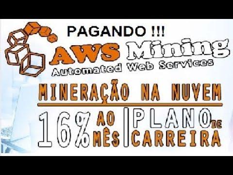 AWS MINING MINERAÇÃO MUNDIAL ☛ Novidades e renovação Mineração entre as gigantes paga em dia