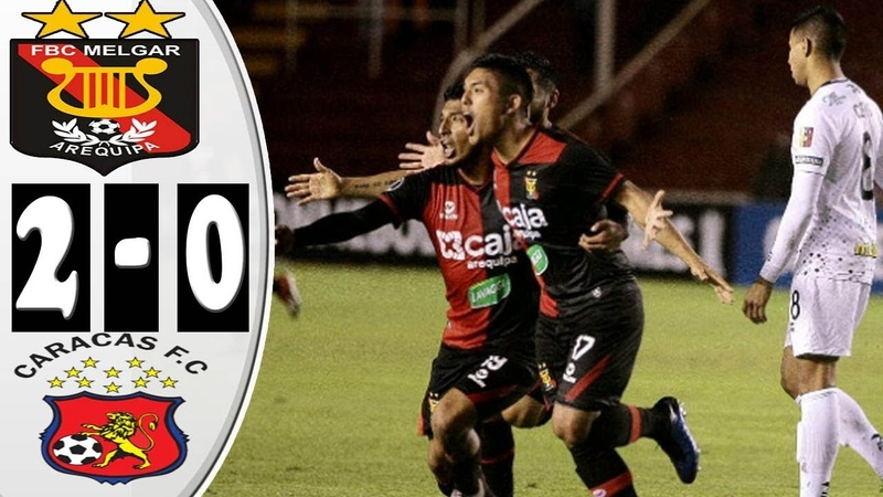 Relato Argentino Melgar (2) Vs Caracas(0)- Copa Lib3rtadores - River Play