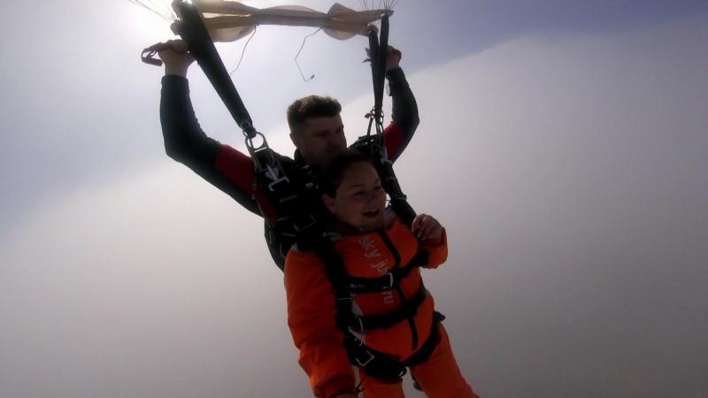 Прыжок с парашютом 2018 или мечты должны сбываться)