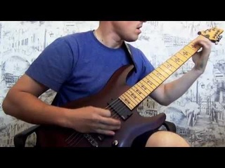 Symphony X - The damnation game Solo Cover (+tab/backing track)
