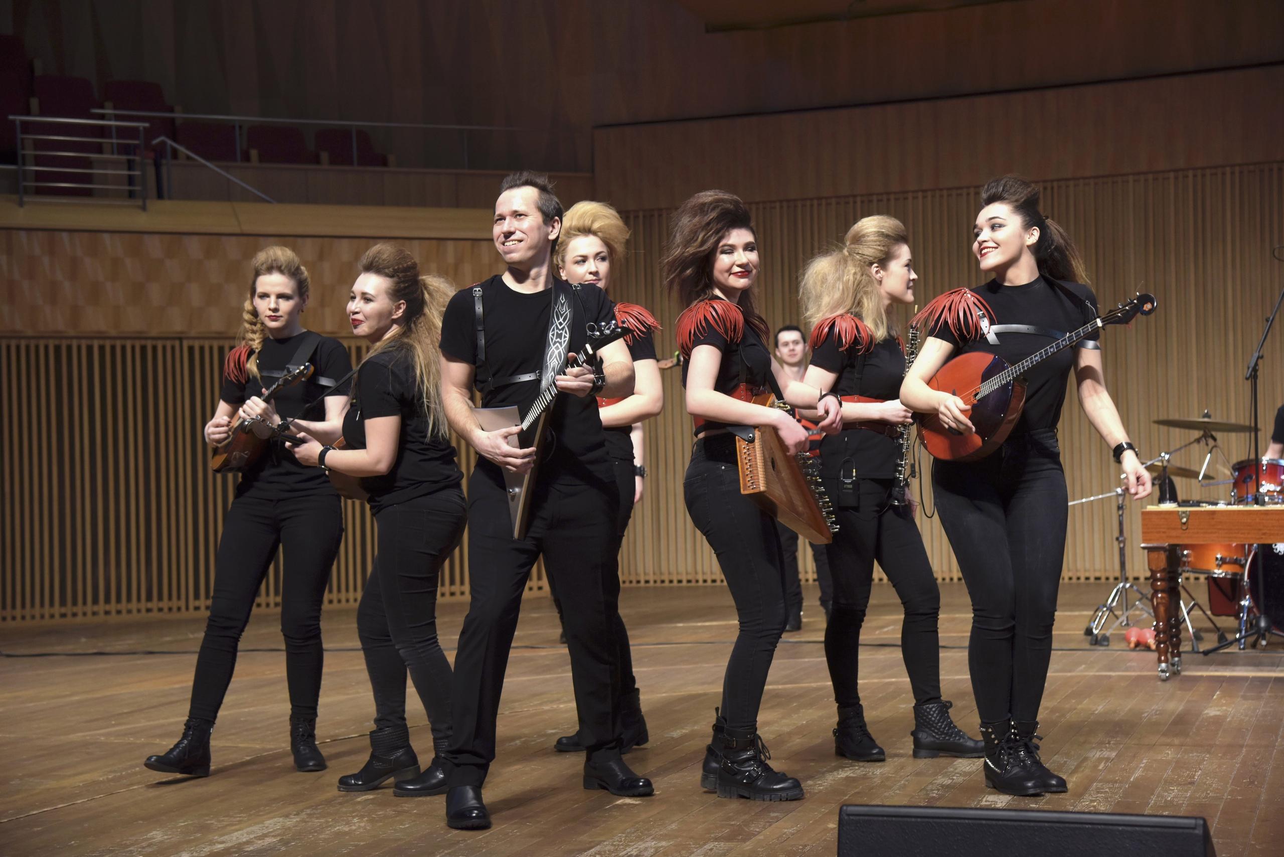 шоу-оркестр русский стиль