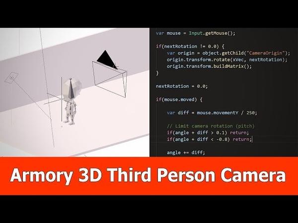 Armory3d Third Person Camera Controller