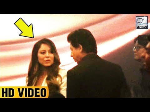 Gauri Khan Gets ANGRY On Shah Rukh Khan, CAUGHT In Camera | LehrenTV