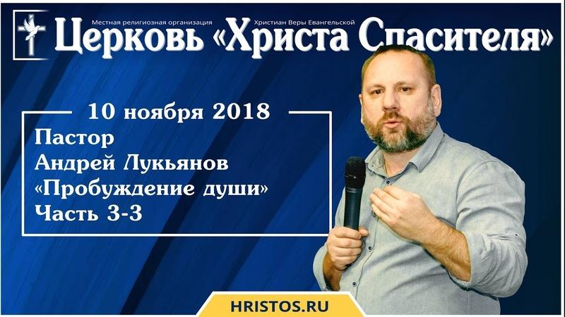 10 ноября 2018. Андрей Лукьянов - Семинар Пробуждение души - Часть 3-3