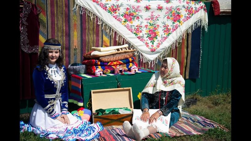 Фотофильм о празднике Шежере́ шәжәрә в деревне Мурадымово