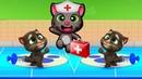 Мой Говорящий Том 2 НОВАЯ ИГРА 1 Друзья Анджела Хомяк Виртуальный питомец для детей Игровой мультик