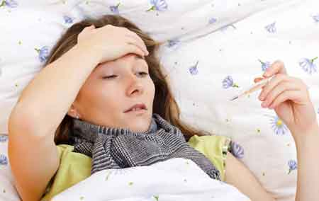Лихорадка и озноб могут свидетельствовать о респираторном заболевании верхних дыхательных путей.Виды респираторных заболеваний ➤