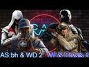 РЭП БОЙ Watch Dogs 2 Assasin's Creed:Brotherhood VS Warface Crysis 3