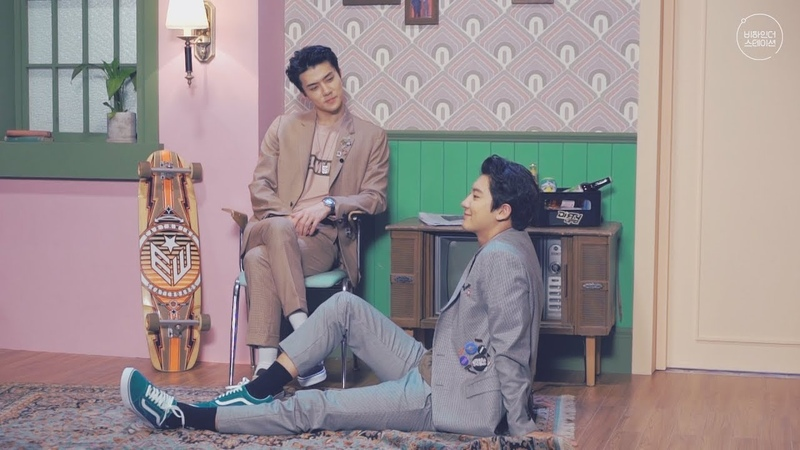 [VIDEO] Chanyeol x Sehun We Young Photoshoot BTS