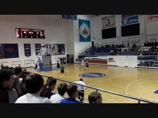 Баскетбол в буривестнике часть 3