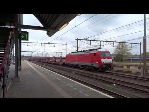 Goederentrein komt door en ICM vertrekt vanaf Station Amersfoort!