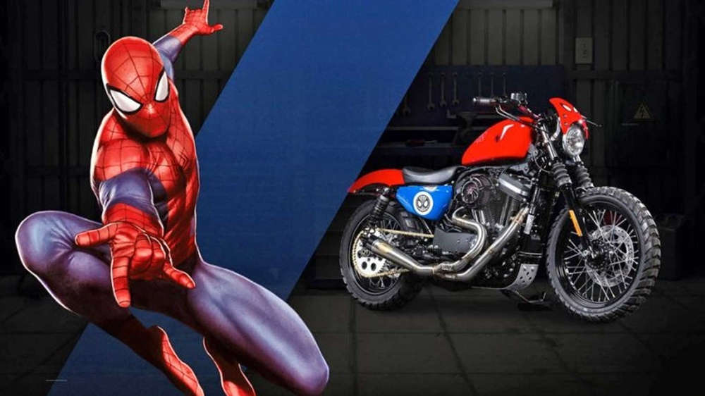 Супергеройские мотоциклы  Harley-Davidson