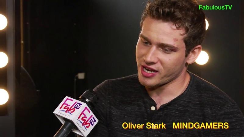 Oliver Stark reveals the coolness of 'MINDGAMERS' on FabulousTV