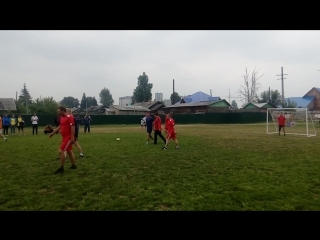 Спартакиада 21.07.18 г - Футбол ( ТЧ -1 - Аистенок ).