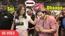 Li'l Masti and Lots of Laughter Varun Dhawan and Anushka Sharma at Mumbai Airport | Sui Dhaaga Style
