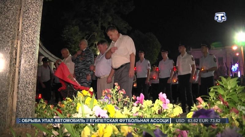 Память павших защитников Родины почтили и крымские полицейские