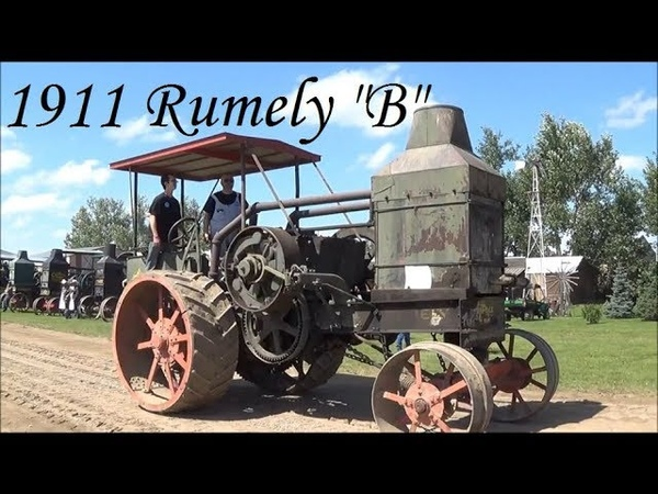 Awaken The Beast- 1911 Rumely B 25-45