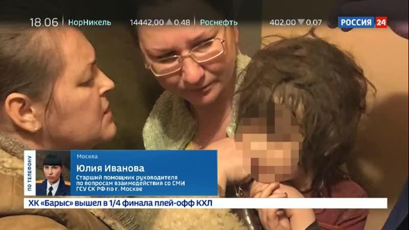 У спасенной пятилетней москвички нашли анорексию и вросшее в шею украшение