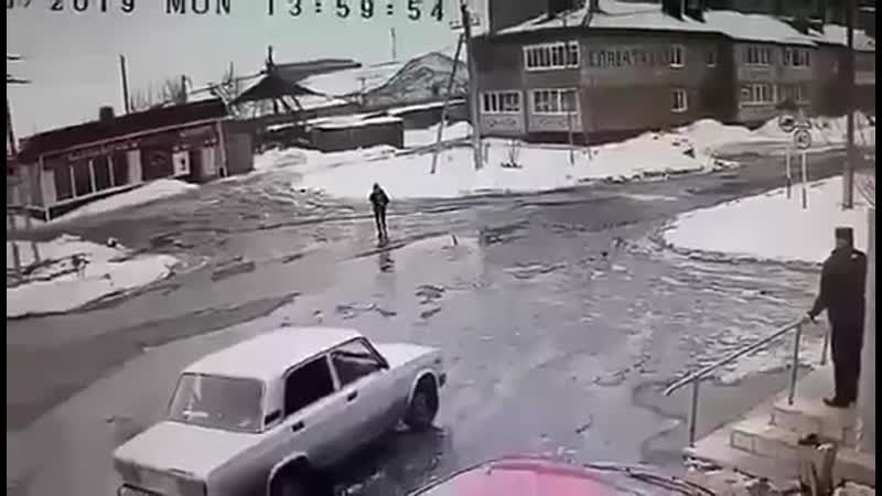 Колхозник сбил бывшую жену