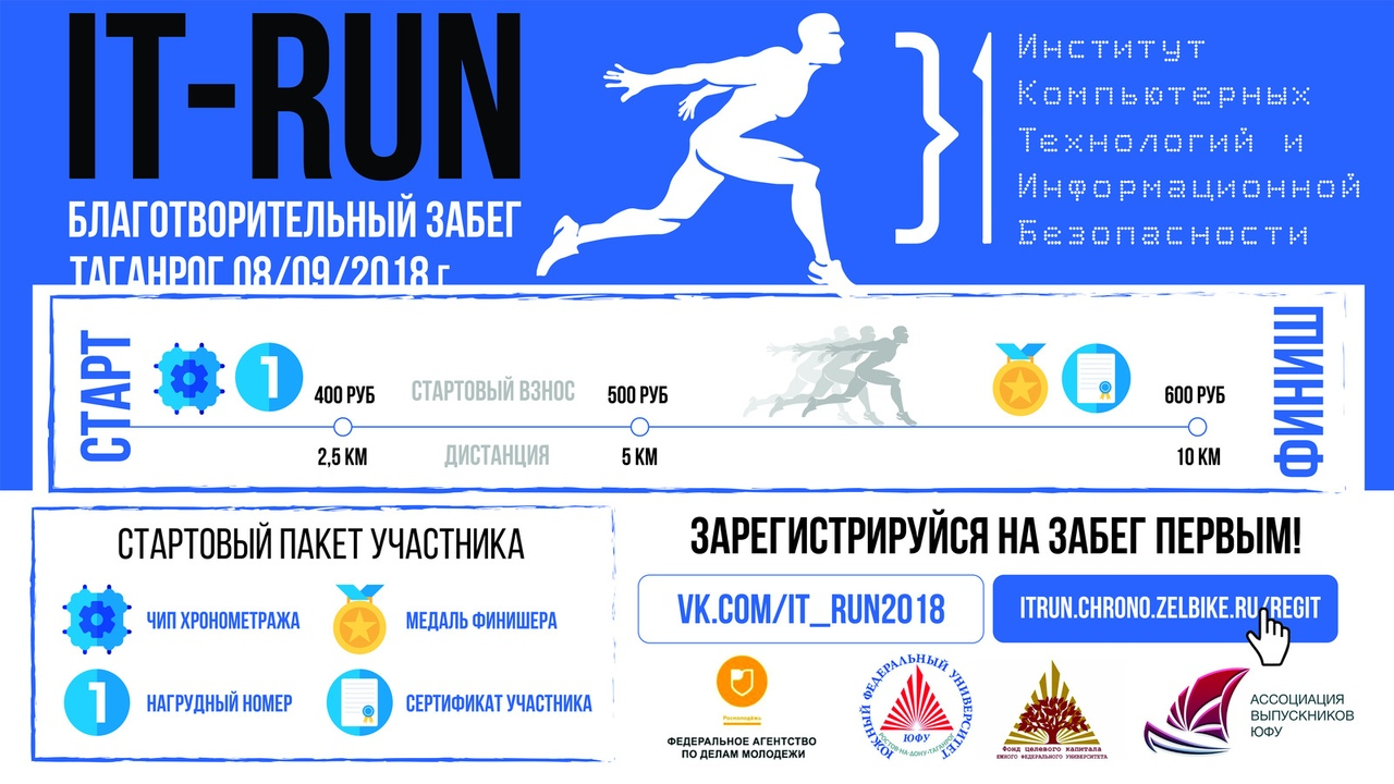 благотворительный забег «IT-Run»