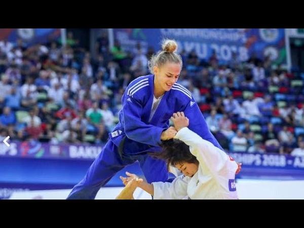 Чемпионат мира по дзюдо в Баку победа Дарьи Белодед и Наохисы Такато…