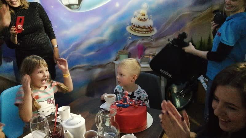 18-11-2018 Егору 5 лет!! Joki Joya. Торт.