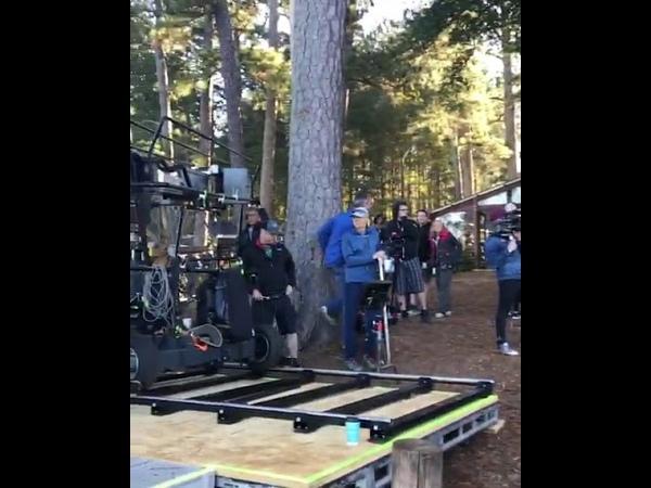 Видео со съёмок Мстители: Финал