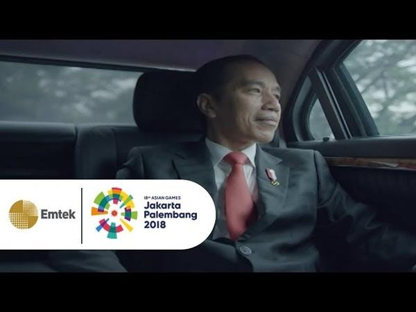 Presiden Joko Widodo Meriahkan Opening Ceremony Asian Games 2018