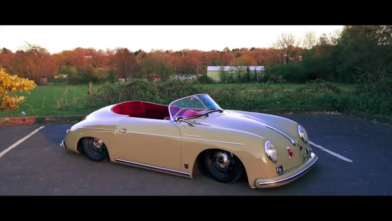 Porsche 356 Speedster On Air Ride