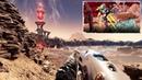 FarCry 5 . DLC Пленник Марса. Королева каменистого моста . Центр изучения арахнидов .