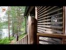 Бревенчатая вилла с пятью спальнями очень уютной бухтой с пирсом и красивым видом