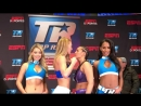 13 Mikaela Mayer vs Nydia Feliciano weigh in face off YouTube