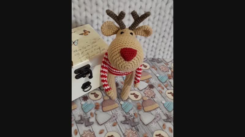 Рождественский олень.