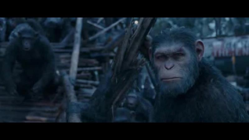Планета обезьян Война (2017)