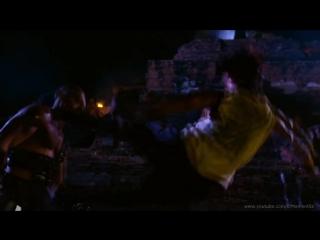 Лю-Канг против Шао Кана.Фильм Смертельная битва 2- Истребление 1997 (Mortal Kombat)