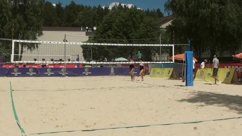 Beach volley Russia Syntuli 2018 W 04 Rudykh Zayonchkovskaya and Frolova Romashova