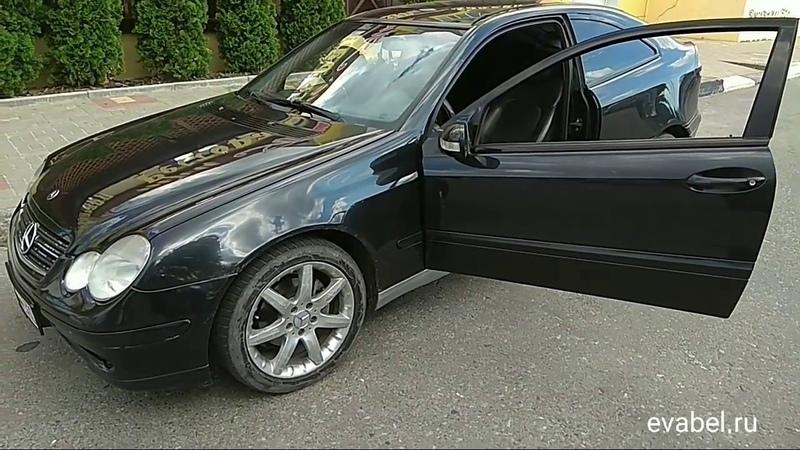 Mercedes-Benz C-Class W203 купе eva коврики evabel.ru